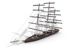 三桅帆船 Barque