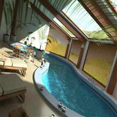 游泳池-小客厅