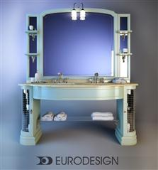 Furniture for bathrooms Eurodesign IL Borgo Comp 豪华洗手池