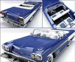 Pontiac Bonneville 1958 庞蒂克 博纳维尔1958