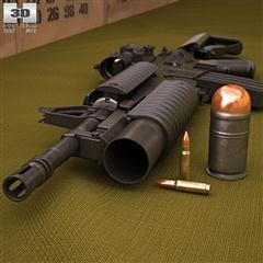 Colt M4A1 with M203