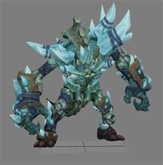 暗黑血统2 Darksiders2 冰巨人 Ice Golem