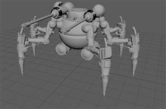 机器怪物 The monster robot