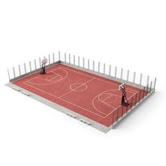 Evermotion Archmode 运动器材 篮球场