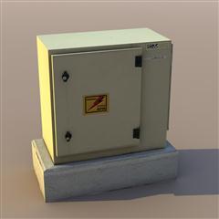 unity3d游戏场景模型之老旧村庄(电箱electric_cube)