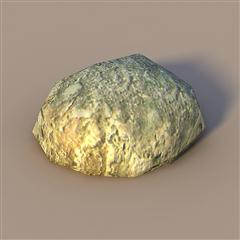 unity3d游戏场景模型之老旧村庄(石头rock)
