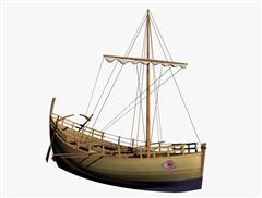 奇幻风格木船 05