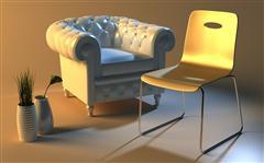 高清精致沙发椅子