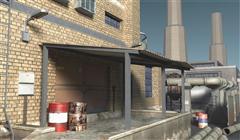 unity3d游戏场景模型工业场景资源3D模型包