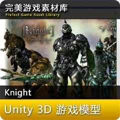 unity3d游戏人物模型超级科幻骑士3D模型