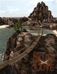 头骨湾完整的场景预加载 Skull Cove Full Scene Preload