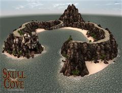头骨湾-岛 Skull Cove Island