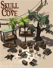 头骨湾道具 Skull Cove Props