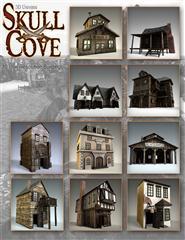头骨湾建筑 Skull Cove Buildings