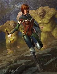 黑暗森林里的女主角 Dark woods Heroine