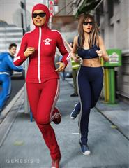 运动慢跑的女人 The Jogger