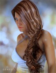 女人 阿兰娜的头发 Alanna Hair