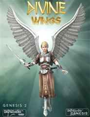 张开神的翅膀 天使的翅膀 Divine Wings and Expansion