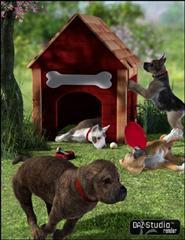 小狗宠物模型包 Millennium Puppy Bundle