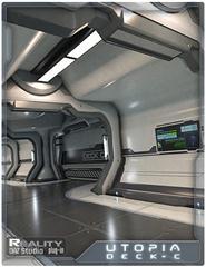 乌托邦甲板C 奇思异想中的飞船夹板 Utopia Deck C