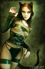 猫女 Cyber Suit for V4-A4