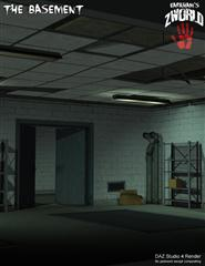 地下室 地下空间 ZWorld-The Basement