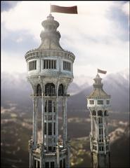 中世纪的白色高塔 Divinity Skies
