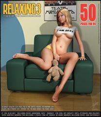 休闲时刻 50个造型 Relaxing 3 - 50 Poses for V4