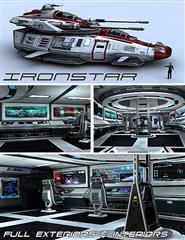 科幻陆空重炮飞船 钢铁之心 Iron star