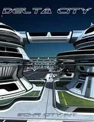 科幻城市装备  三角洲城市 Sci-fi City Kit - Delta City