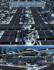科幻城市工具包 Sci-fi City Kit