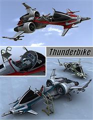 """自动导航霹雳战机 """"迅雷"""" Thunderbike"""