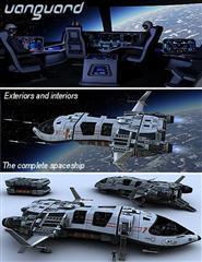 """科幻飞船""""先锋""""Vanguard"""
