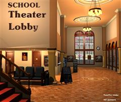 戏剧学校 SCHOOL-Theater Lobby