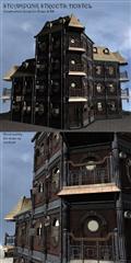 Steampunk Streets-Hostel