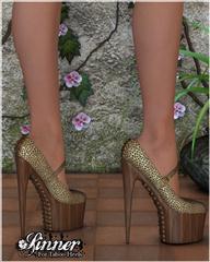 罪人的禁忌的高跟鞋 Sinner for Taboo Heels