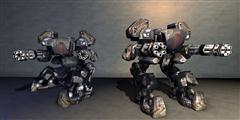 unity3d游戏模型高精度机器人战士 Dexsoft Robot Warrior