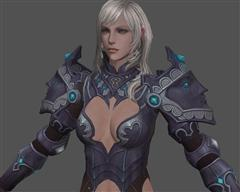 超漂亮的铠甲美女
