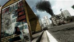 游戏场景模型现代工业遗址环境3D模型