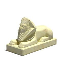 狮身人面像雕塑