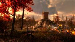 unity3d 游戏场景模型 Autumnal Nature Pack 秋季自然场景模型包