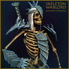 unity3d游戏角色模型Skeleton Warlord骷髅督军