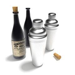 酒瓶 调酒器