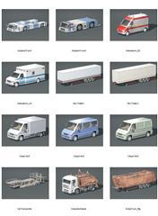 实用车辆3D模型合集
