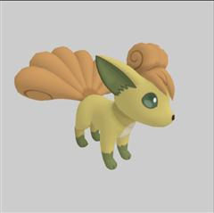 Pokemon GO 口袋妖怪第二弹 六尾 Vulpix ロコン