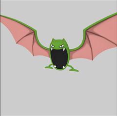 Pokemon GO 口袋妖怪第二弹 大嘴蝠 Golbat ゴルバット