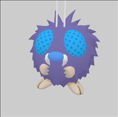 Pokemon GO 口袋妖怪第二弹 毛球 Venonat コンパン