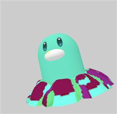 Pokemon GO 口袋妖怪第二弹 地鼠兽 Diglett ディグダ