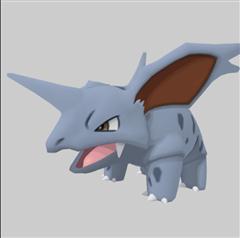 Pokemon GO 口袋妖怪第二弹 尼多力诺 Nidorino ニドリーノ