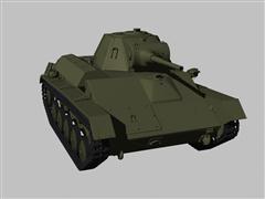 苏式轻型坦克T70